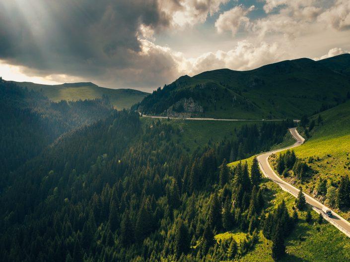 Drumul Transbucegi - DJ713