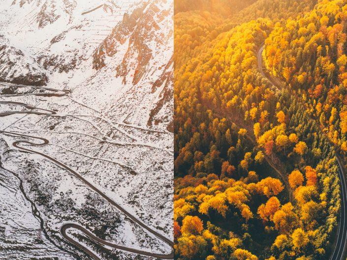 Transfăgărășan: De la toamnă la iarnă