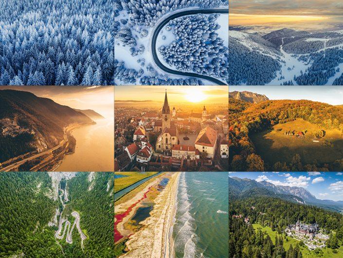 Best-of 2017: Fotografii aeriene cu drona